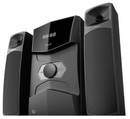 Slika proizvoda: EVO 9 BTMI Black/Satellite 12wx2/Woofer 30w/ AUX-in > USB > SD-card > FM Radio