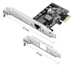 Slika proizvoda: PE10G 10-Gigabit RJ45 10GBase-T Server Network PCI Express v3.0 Adapter