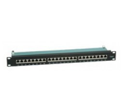Slika proizvoda: Value patch panel, STP, Cat. 6, 24 ports, black