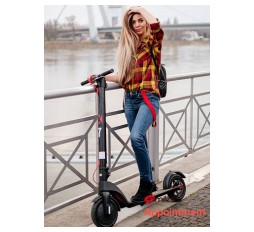 "Product image: X7 el. skuter 350W do 32 km/h 8,5"" tubeless gume IP54"